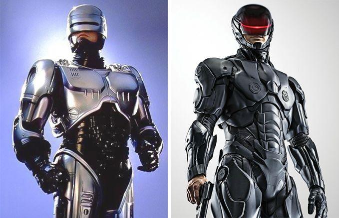 RoboCop Perubahan tahun 1987 dan 2014, kalau RoboCop tambah keren banget ya. Idola anak kecil jaman dulu nih.