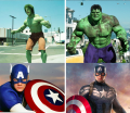 Perubahan 14 SuperHero Film Terkenal dari Awal vs Sekarang