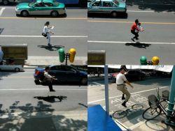 Ini Penjelasan dan Gambar Kenapa di Tiongkok Sepeda Bisa Terbang