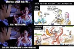 Ilustrasi ini WAJIB DIBACA KHUSUS BAGI YANG SUDAH PUNYA CALON MERTUA!!!!