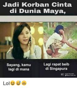 Kumpulan Meme Yang Cocok Buat Pasangan LDR..LOL!