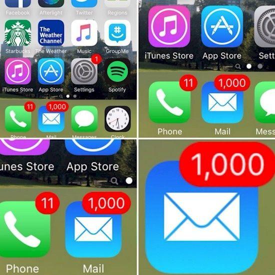 Hayoo..siapa yang dihapenya juga nggak pernah buka email kaya gini? Kebanyakan mainan sosial media sih.