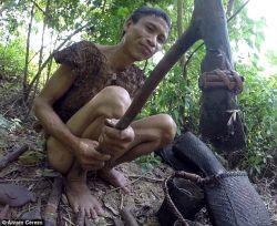 Sejak umur 2 tahun, Ho Van Lang hidup di hutan selama 41 tahun demi menghindari perang Vietnam
