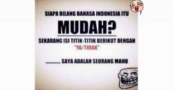 9 Meme kocak ini tunjukkan Bahasa Indonesia itu istimewa!