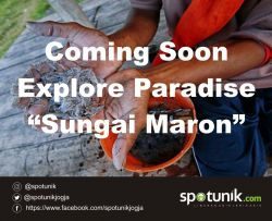 Explore Paradise Spotunik di Sungai Maron