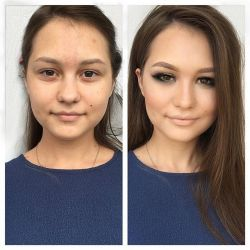 """""""Before And After Photos That Prove Theres Nothing Makeup Cant Do"""