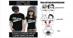 9 Meme Lucu Baju Couple Ini Bakalan Bikin Kamu Kesindir