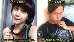 9 Meme Perbedaan Cewek Dan Cowok Kalau Lagi Foto..True!!