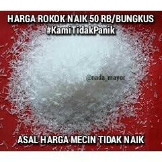 Kumpulan Meme Harga Rokok Naik Jadi Rp 50 Ribu Ini Kocak Abis!