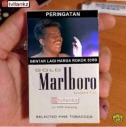 18 Meme Harga Rokok Naik Jadi Rp 50 Ribu Ini Kocak Abis!
