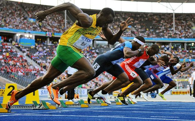 Usain Bolt memang tercepat Pulsker, tapi sebenarnya ia lebih lambat dari kebanyakan pelari lain di awal. Di Olimpiade 2016 100 meter pada hari Minggu, waktu reaksi nya 0,155, sehingga ia paling lambat kedua dari delapan pelari di lapangan.