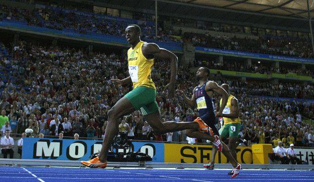 Tapi, saat lomba berlangsung, Bolt benar-benar bersinar. Dia menjadi tercepat di antara tanda 60 dan 80 meter. Pada rekor dunianya di Berlin pada 2009, Bolt berlari dari tanda 60 ke 80 meter dengan waktu 1,61 detik dan mencapai kecepatan 44.72 km/h. Wah cepet ya Pulsker!