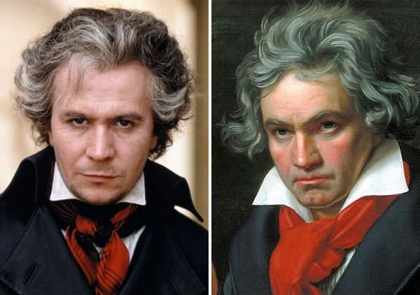 Gary Oldman sebagai Ludwig Van Beethoven di Immortal Beloved (1994).