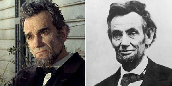 Daniel Day-Lewis sebagai Abraham Lincoln di Lincoln (2012)