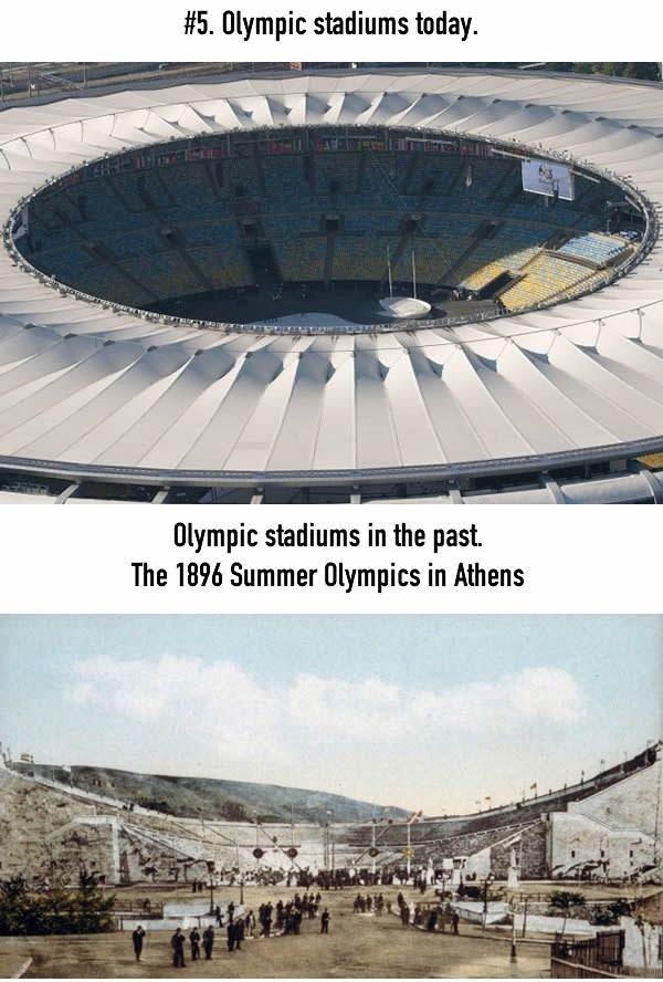 Stadion Olimpiade Stadion yang digunakan untuk olimpiade sekarang selalu megah dah menampung banyak penanton. Tapi ternyata stadion yang digunakan olimpiade dulu hanya berbentuk setengah lingkaran. Itu sebenarnya emang dibuat setengah lingkaran atau belum jadi ya Pulsker?