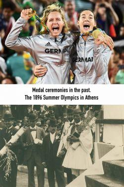 11 Foto Olimpiade Sekarang VS Dulu, Apa Aja yang Berubah Ya?