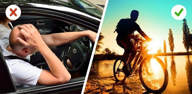 Cobalah bike to work ke kantor Bersepeda kekantor banyak sekali manfaatnya Pulsker, selain bisa terhindar dari macet, kamu juga bisa menghirup udahra segar dipagi hari, selain itu kamu akan memperoleh tubuh yang sehat dengan bersepeda.