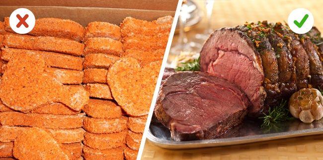 Selalu perhatikan segala macam daging yang akan kamu konsumsi Mulai jika mau mengkonsumsi daging, pilihlah daging yang segar. Kurangi membeli daging dalam kemasan yang ada pengawetnya Pulsker.