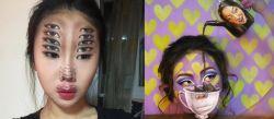 8 Lukisan Ilusi Optik Diwajah Ini Akan Membuatmu Tercengang