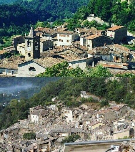 10 Foto Ini Menunjukkan Betapa Dahsyatnya Gempa Di Italia