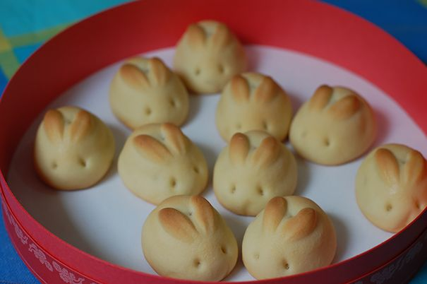 Roti Kelinci Imut banget ya roti kelincinya.
