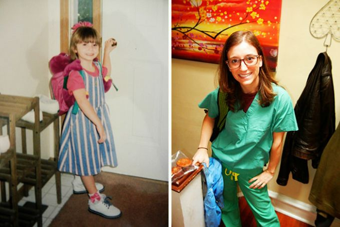 Hari Pertama Masuk TK dan Hari Terakhir Sekolah Kedokteran Kira-kira waktu awal dia masuk TK, udah kebayang bakal sekolah kedokteran ga ya Pulsker?