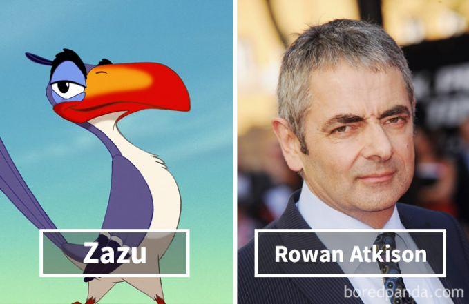 Zazu dari film The Lion King ternyata dubbernya adalah Mr. Bean alias Rowan Atkinson loh Pulsker!