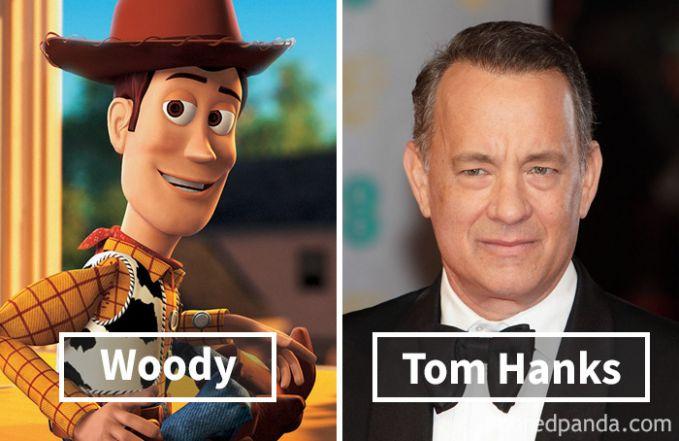 Woody dari film Toy Story ternyata dubbernya adalah Tom Hanks.
