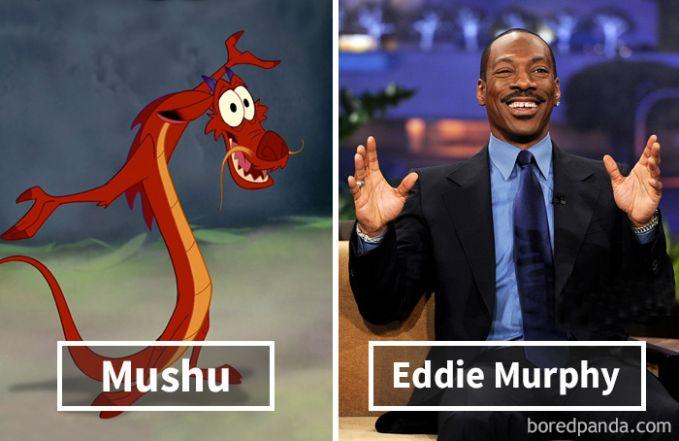 Mushu dari film Mulan ternyata dubbernya adalah Eddie Murphy yang kocak!