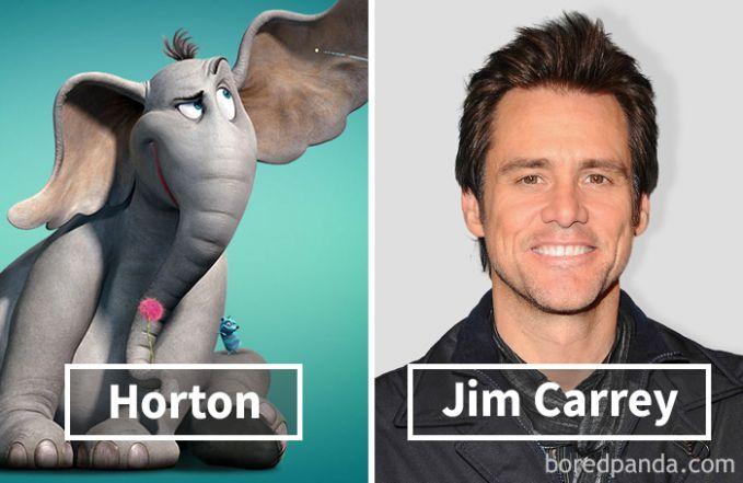 Horton dari film Horton Hears A Who! ternyata dubbernya adalah Jim Carrey.