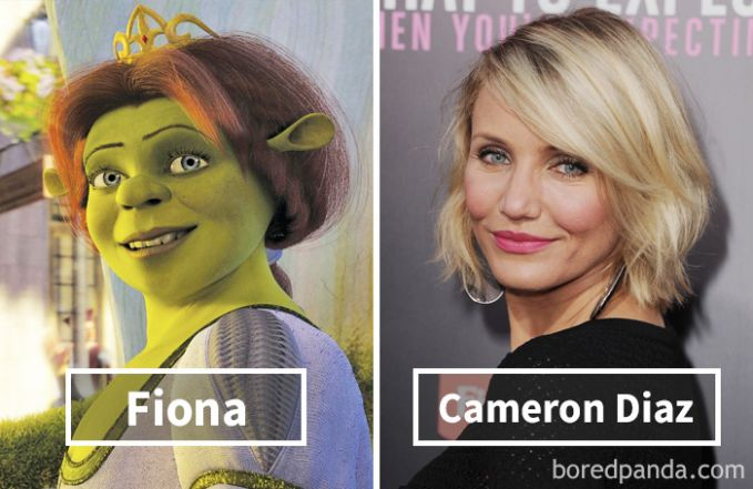 Fiona dari film Shrek ternyata dubbernya adalah Cameron Diaz loh Pulsker!