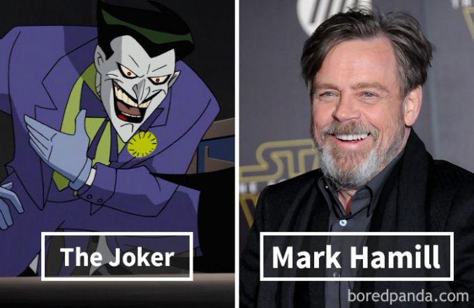 Joker dari film Batman: The Animated Series ternyata dubbernya adalah Mark Hamill, bukan Jared Leto yaa hehehe.
