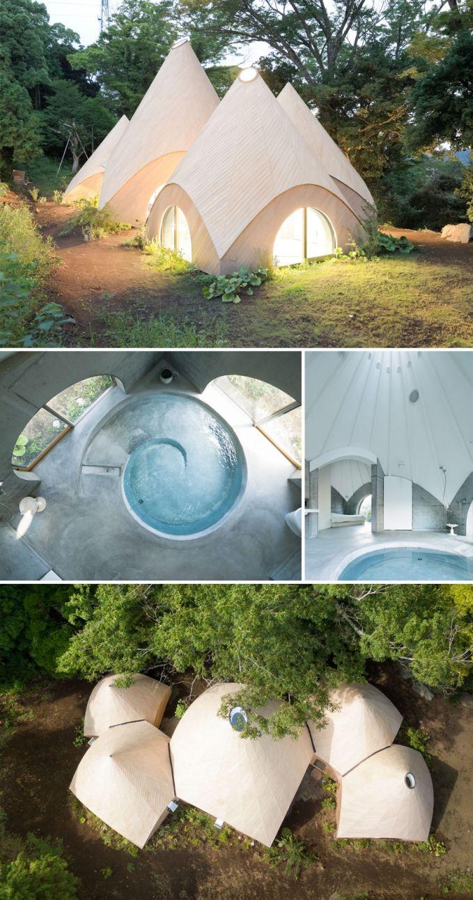 Rumah di Hutan yang Unik Rumah ini didesain oleh arsitek untuk dua wanita yang sudah pensiun. Meskipun keliatannya kecil, dalemnya wow banget loh Pulsker!