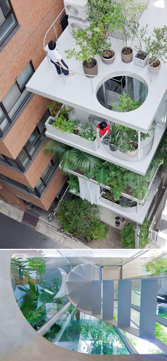 Rumah & Taman, Tokyo Bisa banget ditiru nih Pulsker untuk penghijauan.