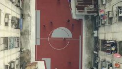 Pertama di Dunia! Lapangan Sepak Bola yang Ga Berbentuk Persegi Panjang di Thailand!