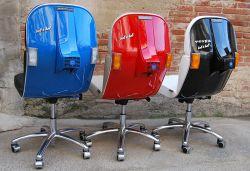 Kursi Vespa ini Terbuat dari Vespa Beneran Loh Pulsker!