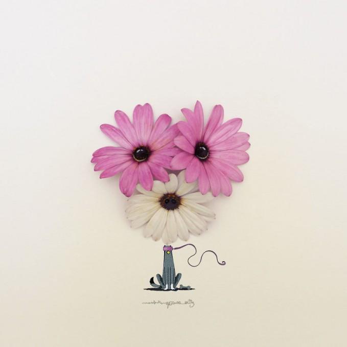 Bunga Buah Disulap Menjadi Seni Keren Banget Pulsker Bisa Nebak