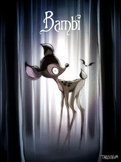 Gimana Ya Kalo 9 Kartun Disney Ini Diproduksi oleh Tim Burton?