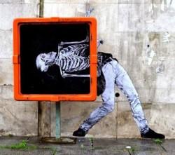 WOW...Seniman Perancis Ini Membuat Karya Seni Keren di Jalanan Kota Paris