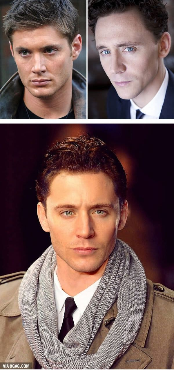 Jensen Ackles dan Tom Hiddleston