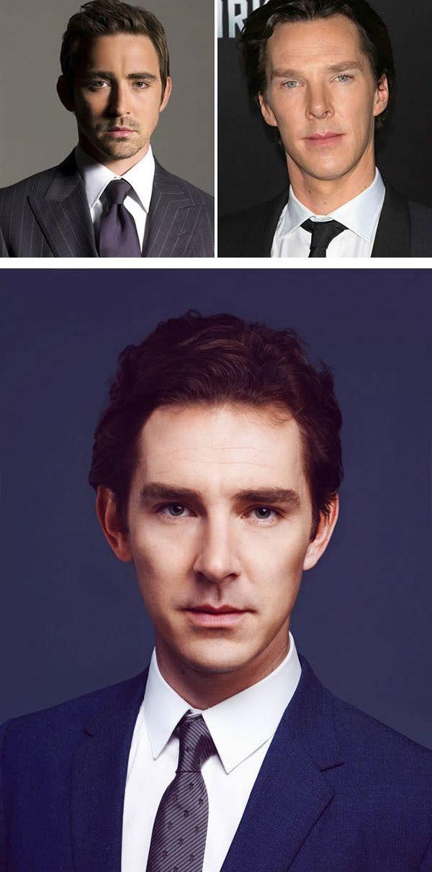 Lee Pace dan Benedict Cumberbatch
