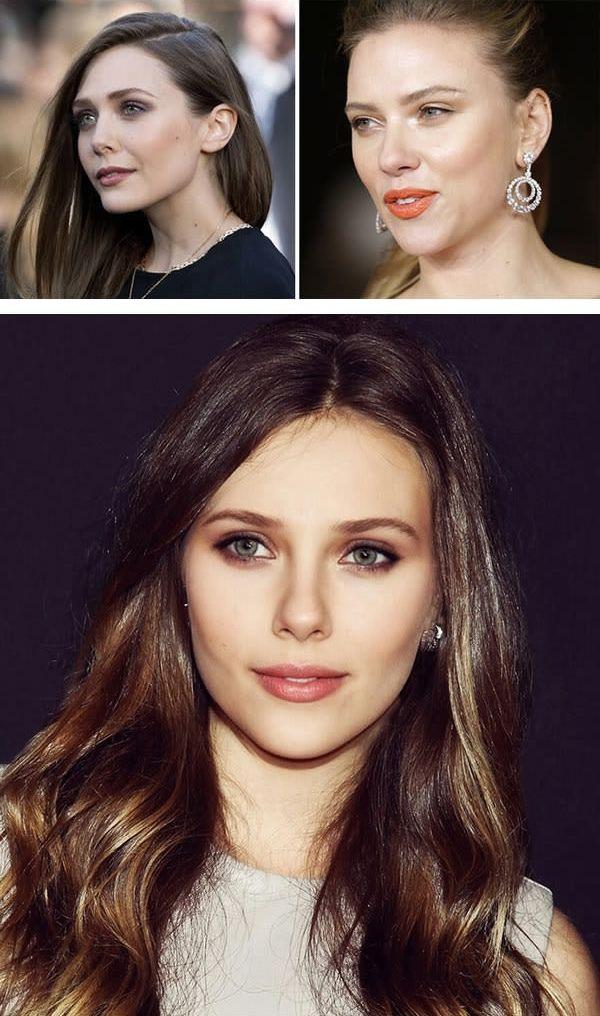 Elizabeth Olsen dan Scarlett Johansson