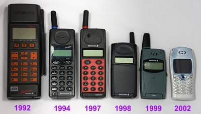 Vintage Ericsson phones Selain Nokia, merk Sony Ericsson juga menjadi incaran para pengguna ponsel pada saat itu. Gadget ini dulu diminati karena bentuknya yang imut dan pas dikantong.
