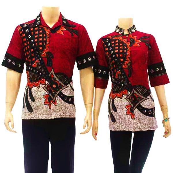 Baju Batik Terbaru Muslim Couple Pria Wanita Model Foto: Tips Memesan Couple Baju Batik