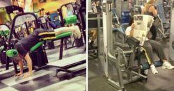 15 Orang Ini Melakukan Hal Konyol Di Tempat Fitnes
