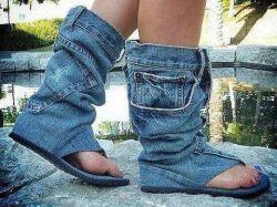 Punya Celana Jeans Tak Terpakai Jangan Dibuang, Karena Bisa Jadi Kreasi DIY yang Keren Lho