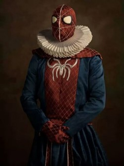 Ini Dia Penampakan Sosok Superhero Dalam Lukisan Jika Mereka Hidup di Abad 16