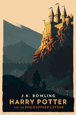 Cover Baru Buku Harry Potter oleh Olly Moss