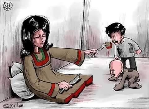 Karikatur pertama ada gambar seorang ibu yang sedang memberikan makanan kepada anaknya yang sedang menangis ini. Apa makna karikatur ini menurut kalian?. Gambar ini menceritakan tentang pengorbanan seorang ibu pulkser. Ibu tidak akan melakukan apa saja untuk kebahagiaan anaknya walaupun dia harus merasa sakit dan mempertaruhkan nyawa sekalipun. Betapa besar pengorbanan seorang ibu pulsker, makanya kita harus hormat kepada ibu kita.