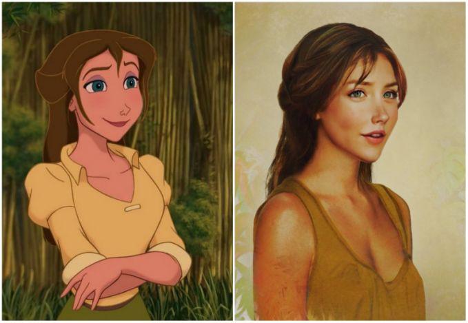 Jane, 'Tarzan'
